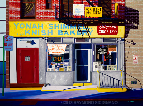 Raymond Sicignano - American Expressions - Oil Paintings of Enduring Urban Icons